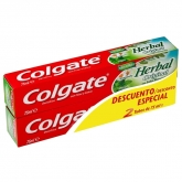 Colgate Herbal Original Toothpaste 2x75ml