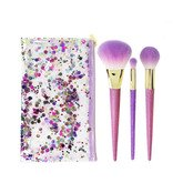 Real Techniques Brush Crush Shimmer & Shine Lote 4 Piezas