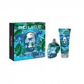 Police To Be Exotic Jungle Man Eau De Toilette Spray 75ml Set 2 Pieces 2019