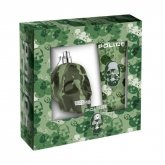 Police To Be Camouflage Eau De Toilette Spray 75ml Set 2 Pieces 2017