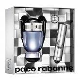 Paco Rabanne Invictus Eau De Toilette Spray 50ml Set 2 Pieces 2019