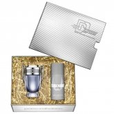Paco Rabanne Invictus Eau De Toilette Spray 100ml Set 2 Pieces 2019