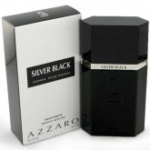 Azzaro Silver Black Eau De Toilette Spray 100ml