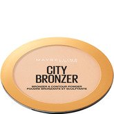 Maybelline City Bronzer Polvos Bronceadores Mate Tono 100 Light Cool Pieles Claras - 8g