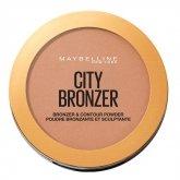 Maybelline City Bronzer & Contour Powder Makeup 300 Deep Cool 8g