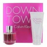 Calvin Klein Downtown Eau De Perfume Spray 90ml Set 2 Pieces 2017