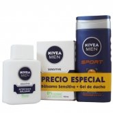 Nivea Men Sport Gel De Baño 350ml Set 2 Piezas 2018