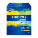 Tampax Compak Multipack 16 Units