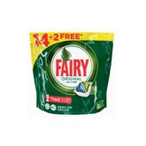 Fairy Original AllIn1 Dishwasher Capsules 16 Units