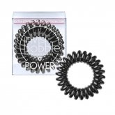 Invisibobble Hair Ring Pure True Black 3 Pieces
