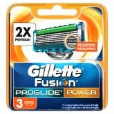 Gillette Fusion Proglide Power Refill 3 Units