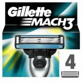 Gillette Shaving Blades Mach 3 4 Units