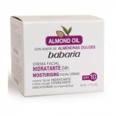 Babaria Almond Oil Crema Facial Hidratante Spf 10 50ml