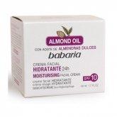 Babaria Almond Oil Moisturising Facial Cream  Spf 10 50ml