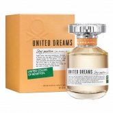 Benetton United Dreams Stay Positive Woman Eau De Toilette Spray 80ml