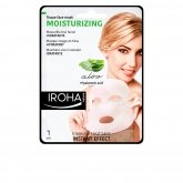 Iroha Nature Moisturizing Tissue Face Mask Aloe Vera 1 Unit