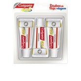 Colgate Total Original Travel Toothpaste 3x20ml