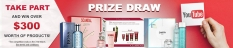 PRIZE DRAW! Win  $300 on products from Clarins, Hugo Boss, Carita, Jean Paul Gaultier and Jeanne Piaubert