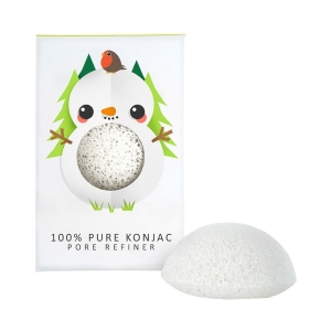 SNOWMAN PURE KONJAC MINI FACE PUFF