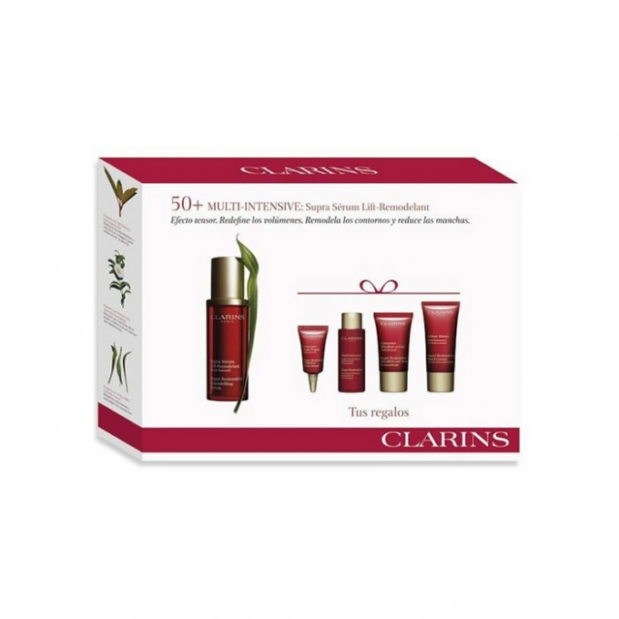 Clarins Super Restorative Remodelling Serum 50ml Set 3 Pieces 2018 Beauty The Shop The Best Fragances Creams And Makeup Online Shop