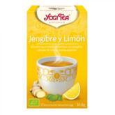 Yogi Tea Jengibre y Limon 17 Bolsitas