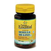 Nature Ess Aceite De Semilla De Lino 500 Mg 50 Perlas