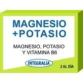 Integralia Magnesio Potasio Vitamina B6 60 Caps