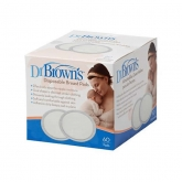 Dr Brown's Disposable Breast Pads 60 Units