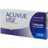 Acuvue Vita Contact Lenses 1 Mounth Replacement -2.50 BC/8.4 6 Unità