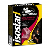 Isostar Gominolas High Energy Fruit Boost 10 cajas x 10 gominolas x 10 gr
