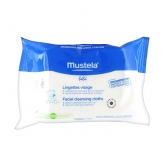 Mustela Facial Cleansing Cloths 25 Units