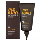 Piz Buin Ultra Light Dry Touch Sun Fluid Spf15 150ml
