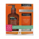 Neutrogena Visibly Clear Daily Wash 200ml Set 2 Pieces 2017