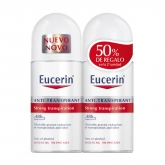 Eucerin Anti-Transpirant Deodorant Roll-On 2x50ml