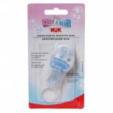 Nuk Soother Band Blue +0 Months