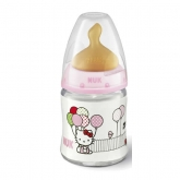 Nuk Baby Bottle Firts Choice Hello Kitty T1 Latex 0-6 Months 150ml