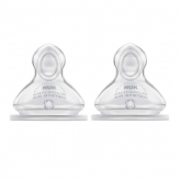 Nuk First Choice Size 1 Silicone Teat 2 Units