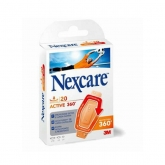 3M Nexcare Active 360 Strips Plasters 30 Units