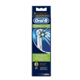 Oral-B CrossAction Replacement Toothbrush Head 3 Units
