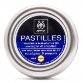 Apivita Pastilles For Store Throat Eucalyptus & Propolis 45g