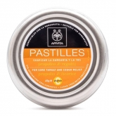 Apivita Pastilles For Store Throat Propolis & Licorice 45g