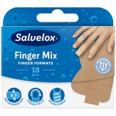 Salvelox Finger Mix Plasters 18 Units