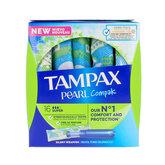 Tampax Pearl Super Tampones 18