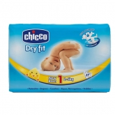 Chicco Dry Fit Size 1 2-5kg 27 Units