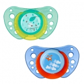 Chicco Physio Air Pacifier Silicone Blue 12m+ 2 Units