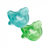 Chicco Physio Soft Pacifier 6-12m 2 Units