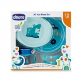 Chicco All You Need 12m+ Blue Set 5 Pieces 2019