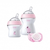 Chicco Naturalfeeling Baby Bottle 0m+ Set 3 Pieces 2018