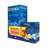 Control Pack Nature 12 Units + Control Ultra Feel 3 Units