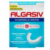 Algasiv Adhésifs Pour Prothèses Dentaires 30 Coussinets Inferieurs